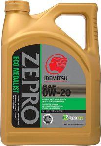 API Premium Grade 0W-20 Detergent Oil