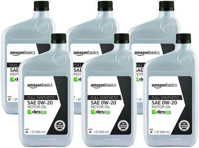 AmazonBasics 0W-20 Full Synthetic Motor Oil