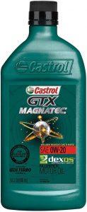 Castrol 06006 GTX MAGNATEC 0W-20 Full Synthetic Motor Oil