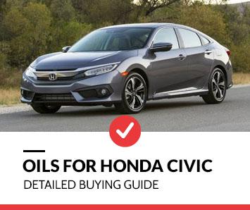 best oil for honda civic