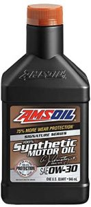 Amsoil AZOQT-EA Signature Series SAE 0W-30 Synthetic Motor Oil