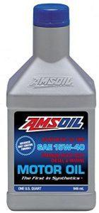Amsoil SAE 15W-40 Heavy-Duty Diesel and Marine Motor Oil