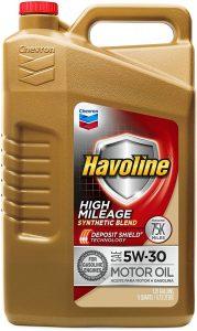 Havoline High Mileage Gasoline 5W-30