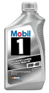 Mobil 1 96989 0W-40 Synthetic Motor Oil