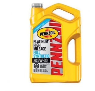Pennzoil Platinum High Mileage Synthetic 5W-30 Motor Oil