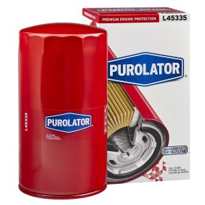Purolator L45335 Red Single Premium Engine Protection Spin On Oil Filter