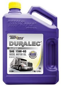 Royal Purple 15W40 Duralec Super Synthetic Oil