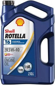 Shell Rotella Full Synthetic 5W-40 Diesel Engine Oil