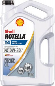 Shell Rotella T4 Triple Protection Conventional 10W-30 Diesel Engine Oil
