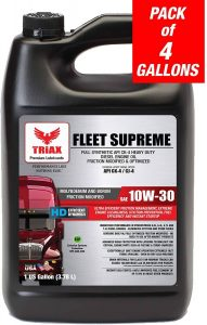 Triax Fleet Supreme ESP 10W-30 Ultimate Full Synthetic Engine Oil