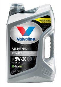 Valvoline Advanced Full Synthetic 5W-20 Motor Oil