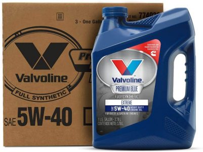 Valvoline Premium Blue Extreme SAE 5W-40 Full Synthetic Engine Oil