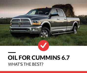 best oil for cummins6 7