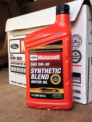 Motorcraft Semi-Synthetic 5W-30