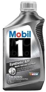 Mobil 1 112980 Synthetic Automatic Transmission Fluid – Best Transmission Fluid for Honda CRV
