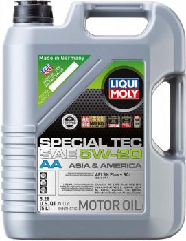 Liqui Moly 2259 Special Tec AA 5W-20 Synthetic Motor Oil – Best for Hemi Truck