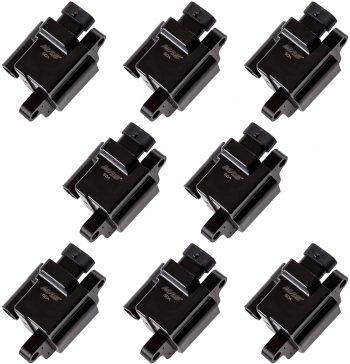 MAS 8 Pack Square Compatible Ignition Coil – 2004 GMC Sierra Coil Pack