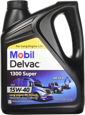 Mobil 1 112786 15W-40 Delvac 1300 Super Motor Oil – for Duramax lly