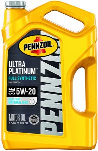Pennzoil Ultra Platinum Full Synthetic 5W-20 Motor Oil