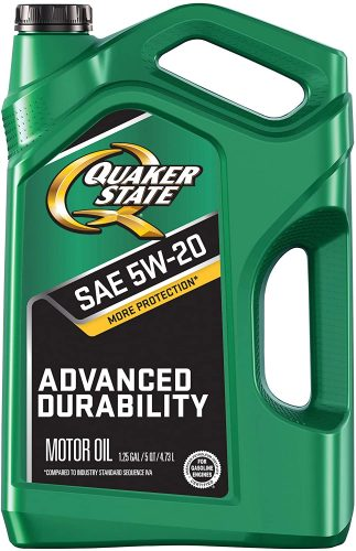 Quaker State Advanced Durability 5W-20 Motor Oil
