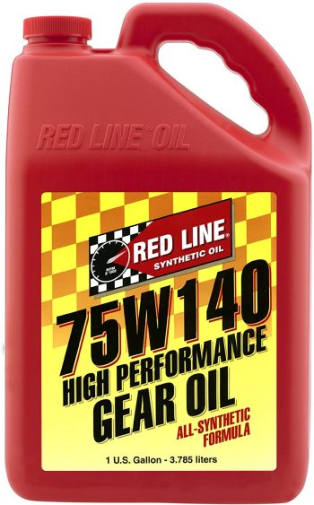Redline Gear Oil 75w140 – Best Gear Oil 75w140 F350