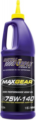 Royal Purple 75W140 Gear Oil – 75w140 Gear Oil for Differential