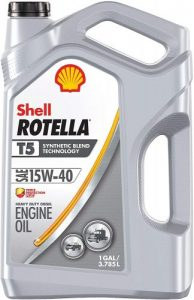 Shell Rotella Diesel Engine Oil – T5 Synthetic Blend