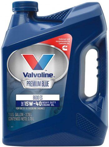 Valvoline Premium Blue 8600 ES SAE 15W-40 Engine Oil – Best for Duramax lml