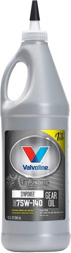 Valvoline 75W-140 Gear Oil – Best 75w140 Synthetic Gear Oil for Ford F250