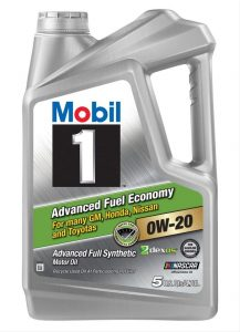 Mobil 1 Advanced 0W-20 Full Synthetic Motor Oil
