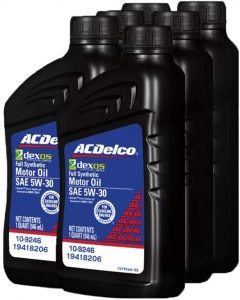 ACDelco Full Synthetic 5W-30 Motor Oil
