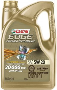 Castrol Edge Extended Performance 5W-20 Advanced Full Synthetic Oil