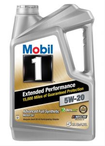 Mobil 1 Extended Performance 5W-20 Full Synthetic Motor Oil