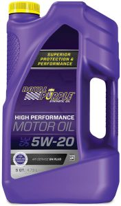 Royal Purple SAE 5W-20 High Performance Synthetic Motor Oil