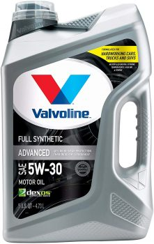 Valvoline Advanced Full Synthetic SAE 5W-30 Motor Oil