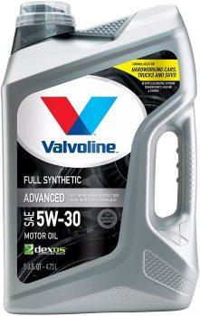 Valvoline Advanced Full Synthetic SAE 5W-30 Oil