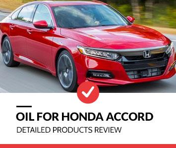 best oil for honda accord