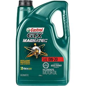 Castrol GTX Magnatec 0W-20 Full Synthetic Motor Oil