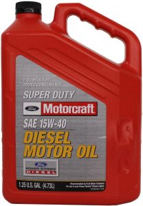 FORD Motorcraft Super Duty 15W-40 Diesel Oil