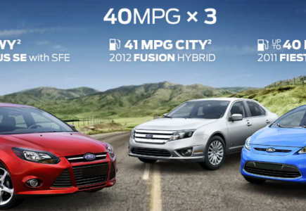 Ford Vehicles - Featuring Cars That Get 40MPG