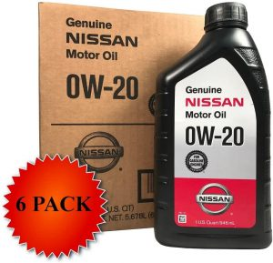 Genuine Nissan Synthetic 0W-20 Motor Oil