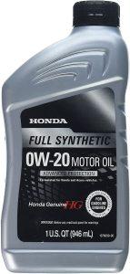 Honda Genuine Full Synthetic 0W-20 Motor Oil