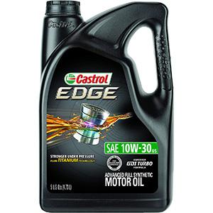 Castrol Edge SAE 10W-30 Advanced Full Synthetic Motor oil
