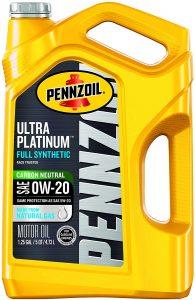 Pennzoil Ultra Platinum Full Synthetic 0W-20 Motor Oil