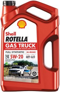 Shell Rotella Gas Truck full Synthetic 5W-20 Motor Oil