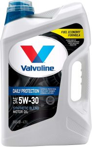 Valvoline Daily Protection Synthetic Blend 5W-30 Motor Oil
