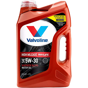 Valvoline High Mileage with Max Life Technology SAE 5W-30 Motor Oil