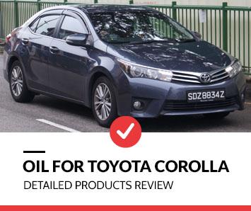 best oil for toyota corolla