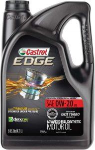 Castrol Edge Advanced Full Synthetic 0W-20 Motor Oil