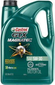 Castrol GTX Magnatec Full Synthetic 5W-30 Motor Oil